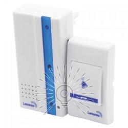 Дзвінок Lemanso 230V LDB49 білий з синім Lemanso - 2