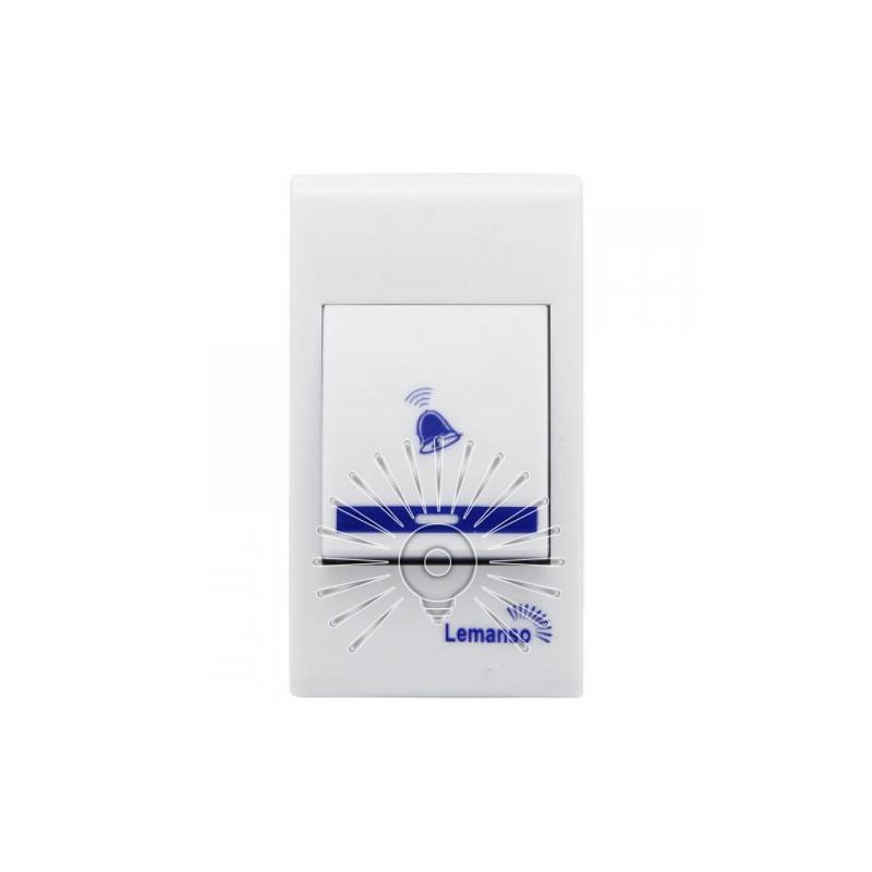 Дзвінок Lemanso 230V LDB49 білий з синім Lemanso - 4