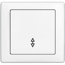 Выключатель DELUX WEGA 9025 1-кл. проходной DELUX - 1