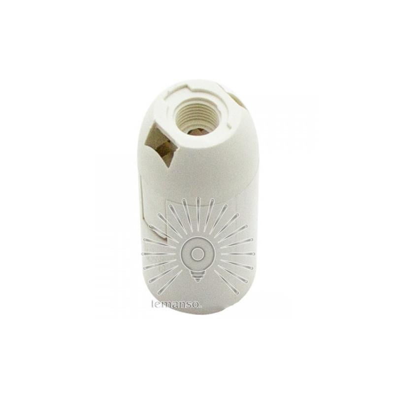 Патрон LEMANSO Е14 пластиковий / без різьби / білий / LM2508 Lemanso - 2