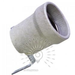 Патрон LEMANSO Е27 керамический + планка / LM2533 Lemanso - 1