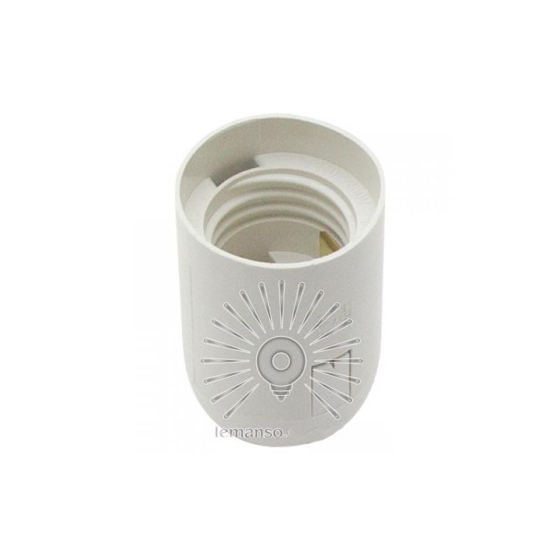 Патрон LEMANSO Е27 пластиковий / без різьблення / білий / LM2511 Lemanso - 2