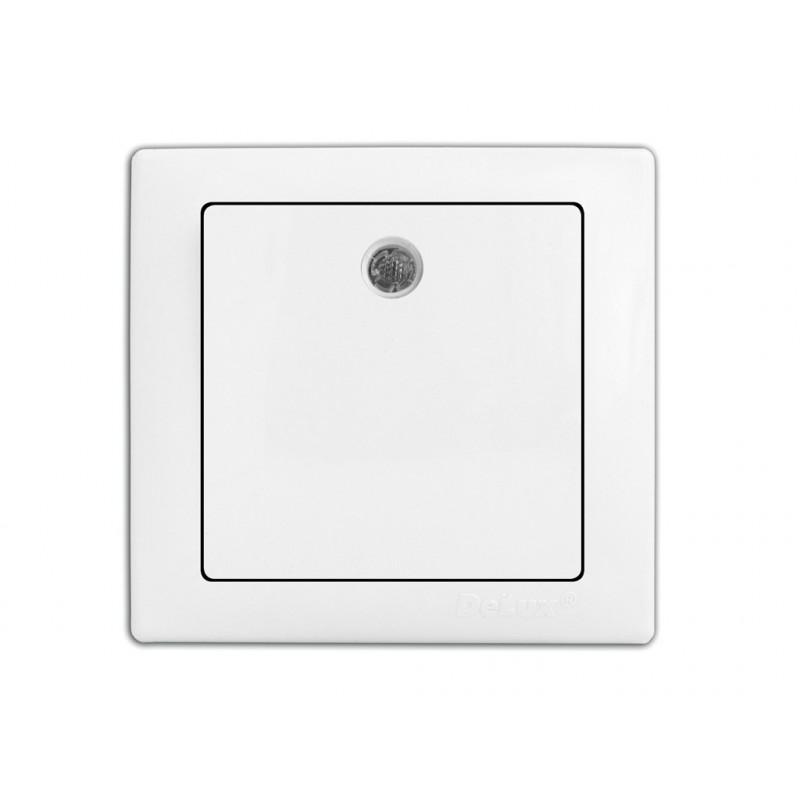 Выключатель DELUX WEGA 9121 1-кл. с подсветкой DELUX - 1