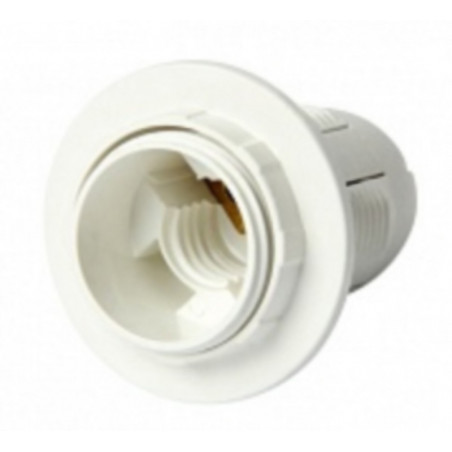 Патрон Е27Н10РП-004 пластиковий різьбовій Lemanso - 1