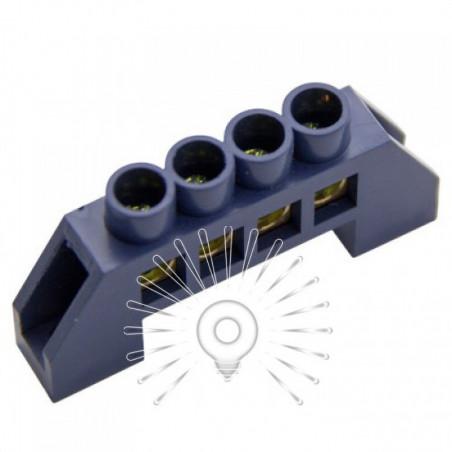 Шина з'єднувальна 6 * 9 4ways Lemanso синя / LMA070 Lemanso - 1