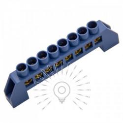 Шина соединительная 6*9 8ways Lemanso синяя / LMA070 Lemanso - 1