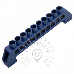 Шина з'єднувальна 6 * 9 10ways Lemanso синя / LMA070 Lemanso - 1