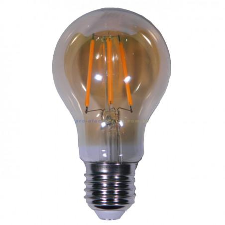 Лампа Едісона Lemanso світлодіодна 6W A60 E27 480LM 2200K 220-240V, золота / LM3801 Lemanso - 1
