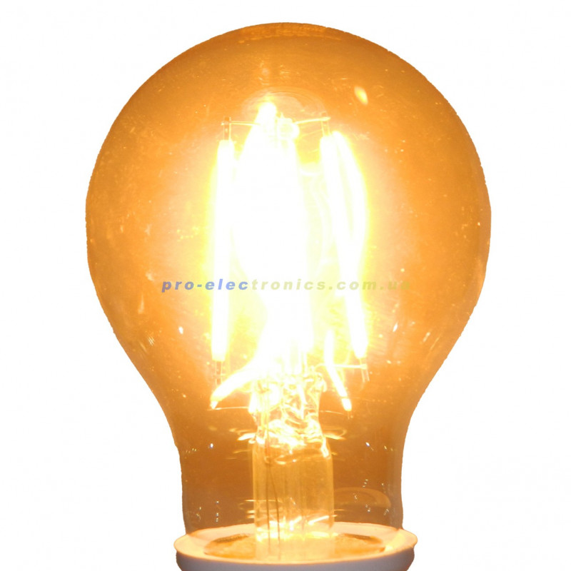 Лампа Едісона Lemanso світлодіодна 6W A60 E27 480LM 2200K 220-240V, золота / LM3801 Lemanso - 4