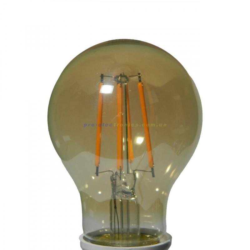 Лампа Едісона Lemanso світлодіодна 6W A60 E27 480LM 2200K 220-240V, золота / LM3801 Lemanso - 3