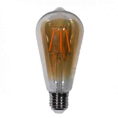 Лампа Едісона Lemanso світлодіодна 4W ST64 E27 320LM 2200K 220-240V, золота / LM3802 Lemanso - 1
