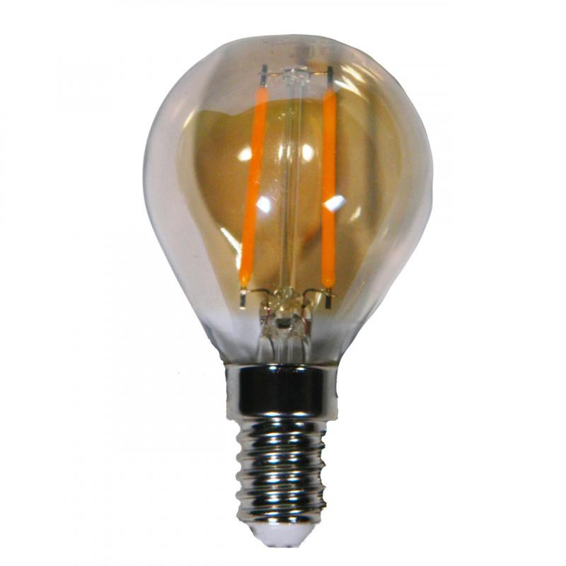 Лампа Едісона Lemanso світлодіодна 2W G45 E14 160LM 2200K 220-240V, золота / LM3800 Lemanso - 2