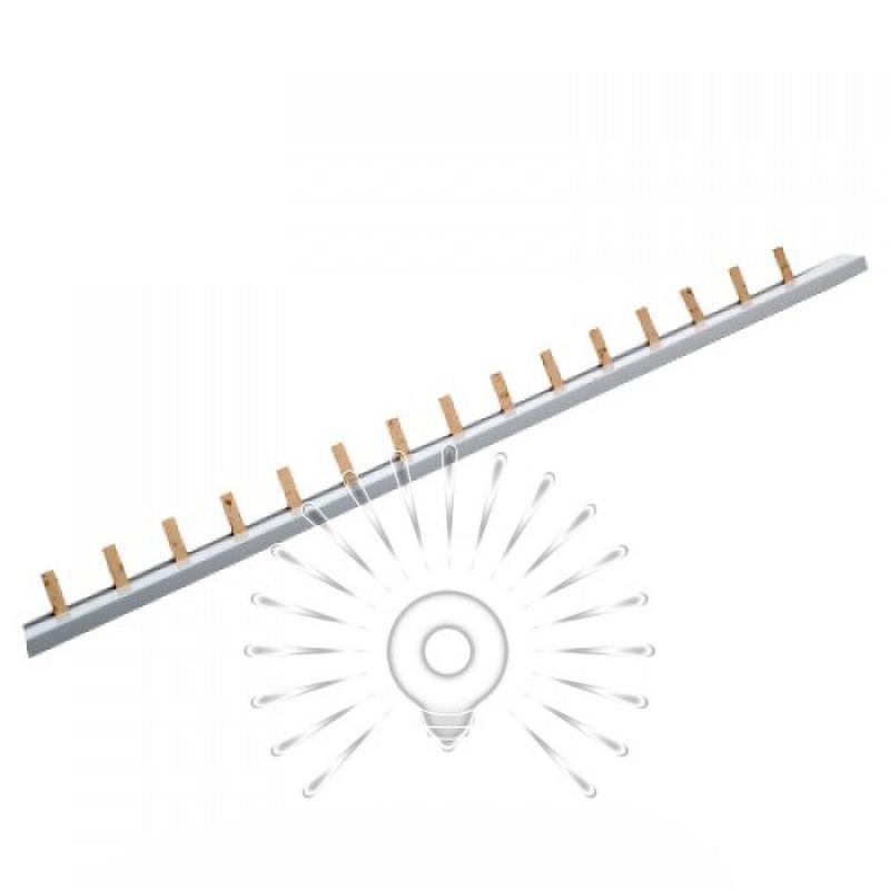 Шина соединительная для 1-фазных автоматов штырь 1м Lemanso / LMA064 Lemanso - 1