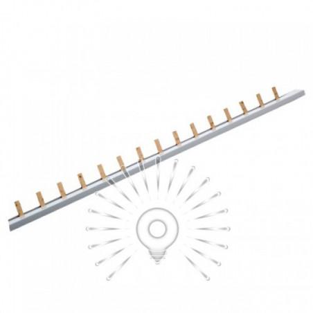Шина з'єднувальна для 1-фазних автоматів штир 1м Lemanso / LMA064 Lemanso - 1
