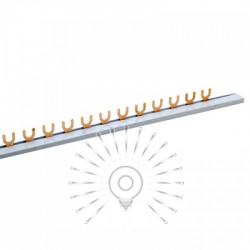 Шина з'єднувальна для 1-фазних автоматів вилка 1м Lemanso / LMA066 Lemanso - 1