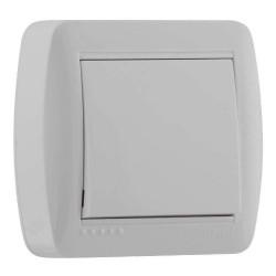 Выключатель накладной Lezard 711-0200-100 Demet Белый Lezard - 1