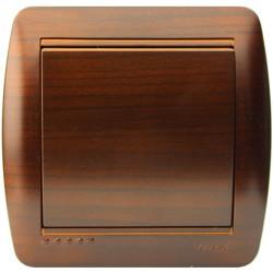 Вимикач накладний Lezard 711-0400-100 Demet Античний кедр Lezard - 1