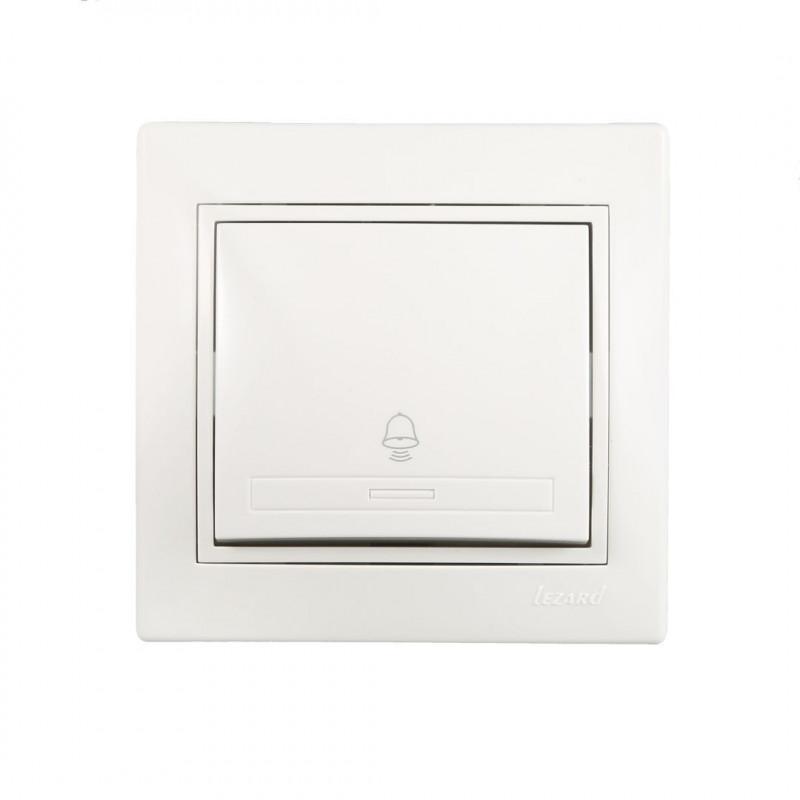 Кнопка звонка Lezard 701-0202-103 Mira Белый Lezard - 1