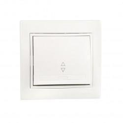 Выключатель проходной Lezard 701-0202-105 Mira Белый Lezard - 1