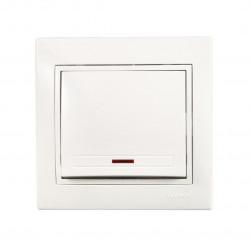 Выключатель с подсветкой Lezard Mira 701-0202-111 Lezard - 1