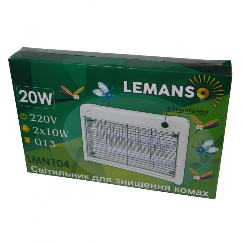 Світильник від комах T8 2x10W Lemanso LMN104 Lemanso - 3