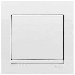 Вимикач Lezard Deriy 702-0202-100 білий Lezard - 1