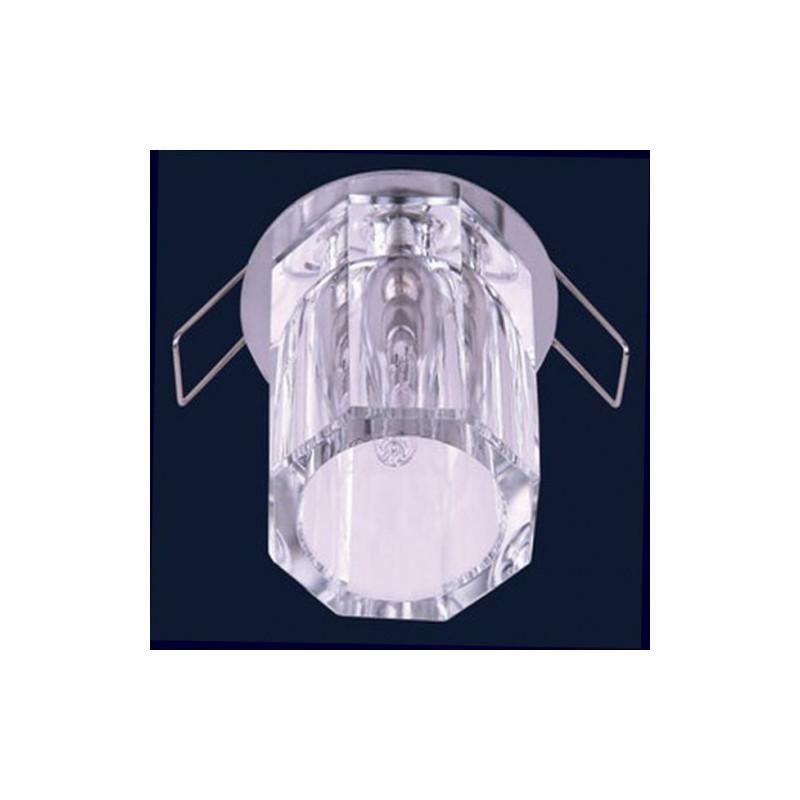 Светильник точечный 70802 + 712 круг G4 60CH Brilux - 1