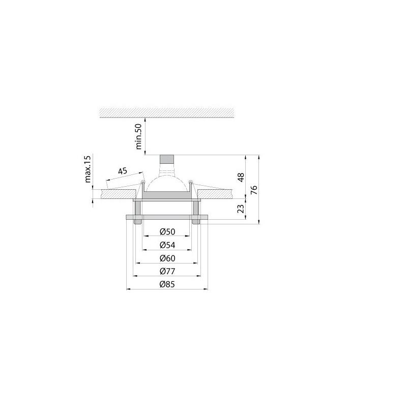 Светильник точечный BRILUX DL- 6S Brilux - 2