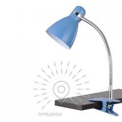 Настільна лампа  Lemanso 60W E27 LMN103. З прищіпкою Lemanso - 1