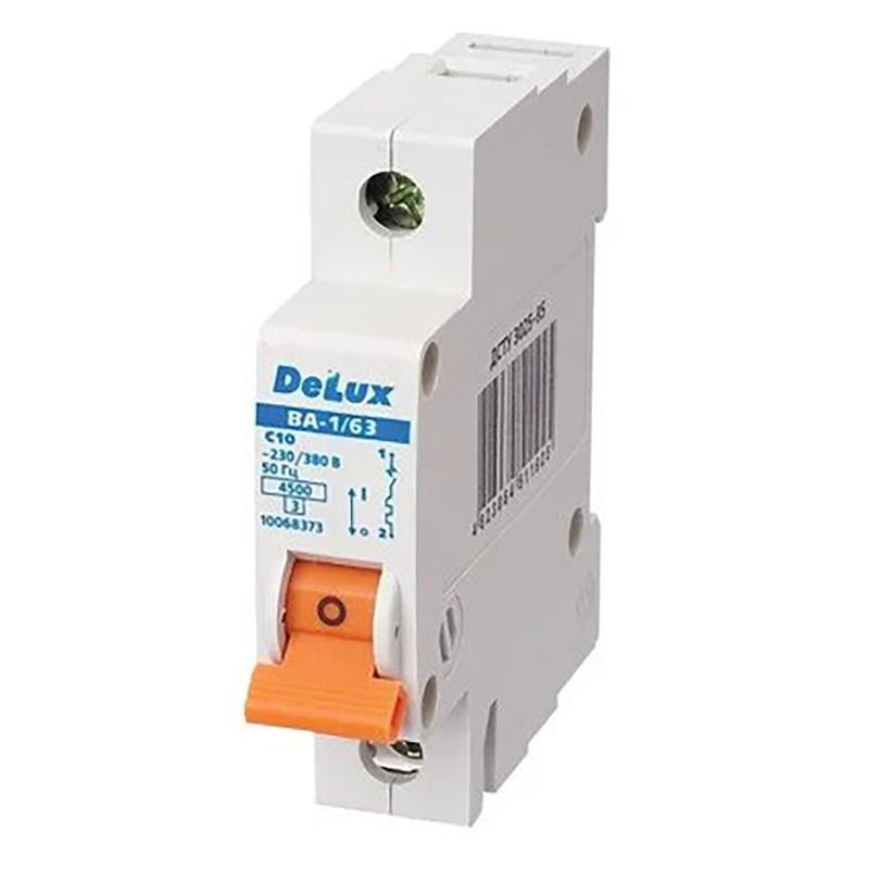 Автоматичний вимикач DELUX ВА-1/63 С40 DELUX - 1