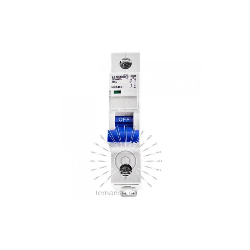 Автоматичний вимикач Lemanso 4.5KA (тип С) 1п 16A LCB45 Lemanso - 3