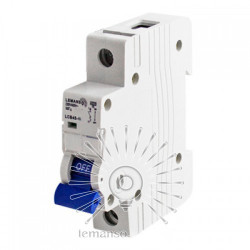 Автоматичний вимикач Lemanso 4.5KA (тип С) 1п 6A LCB45 Lemanso - 1