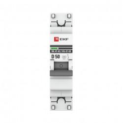 Автоматический выключатель EKF ВА 47-63 50А С EKF - 1