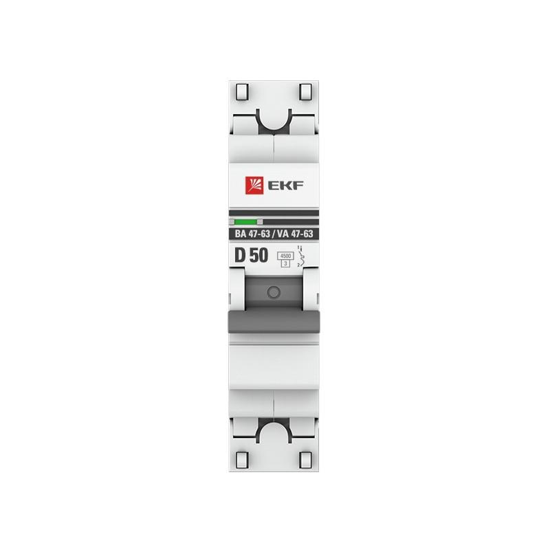 Автоматичний вимикач EKF ВА 47-63 50А С EKF - 1