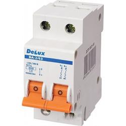 Автоматический выключатель DELUX ВА-2/63 С6 DELUX - 1