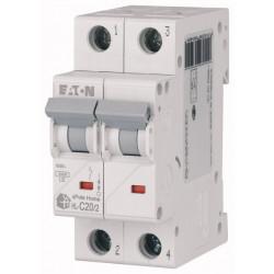 Автоматичний вимикач EATON HL-C20/2 EATON - 1