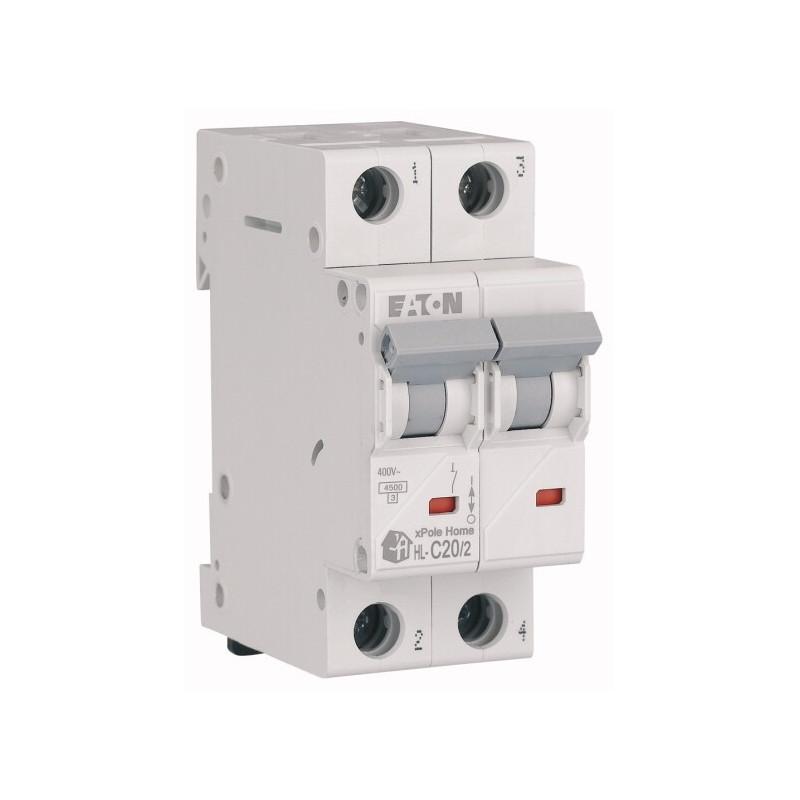 Автоматичний вимикач EATON HL-C20/2 EATON - 2