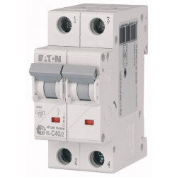 Автоматический выключатель EATON HL-C40/2 EATON - 1