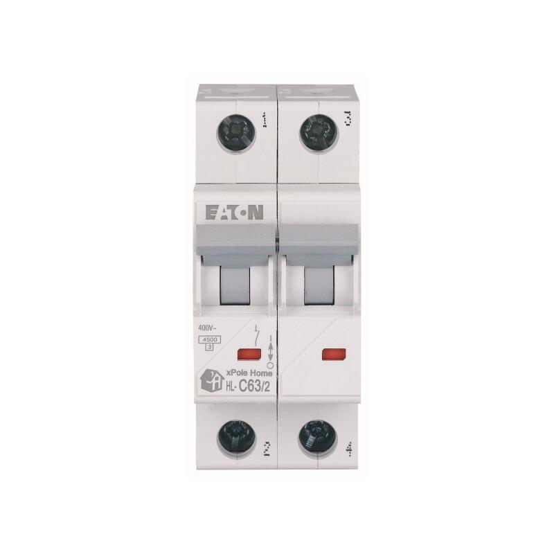 Автоматический выключатель EATON HL-C63/2 EATON - 2