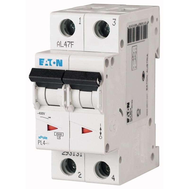 Автоматичний вимикач EATON PL4-C20/2 EATON - 1