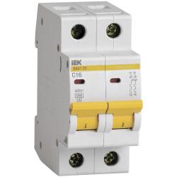 Автоматичний вимикач ВА47-29 2Р 16А 4,5кА С IEK IEK - 1