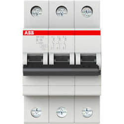 Автоматичний вимикач ABB SH203-B16 ABB - 2