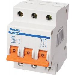 Автоматический выключатель DELUX ВА-3/63 С20 DELUX - 1