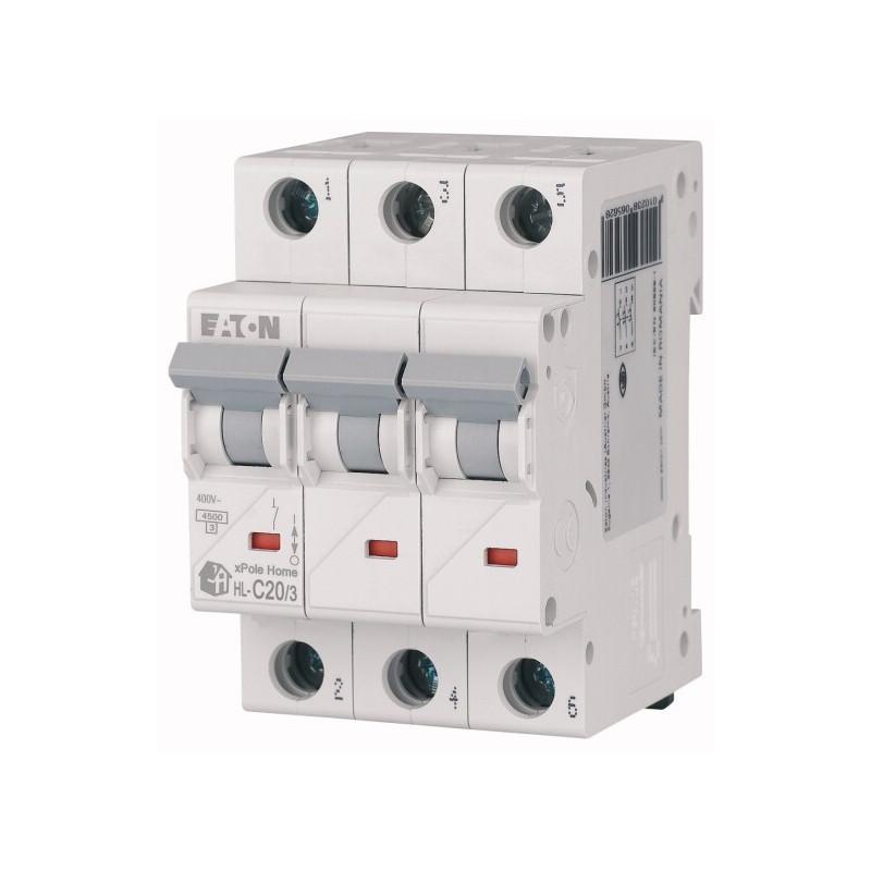 Автоматичний вимикач EATON HL-C20/3 EATON - 2
