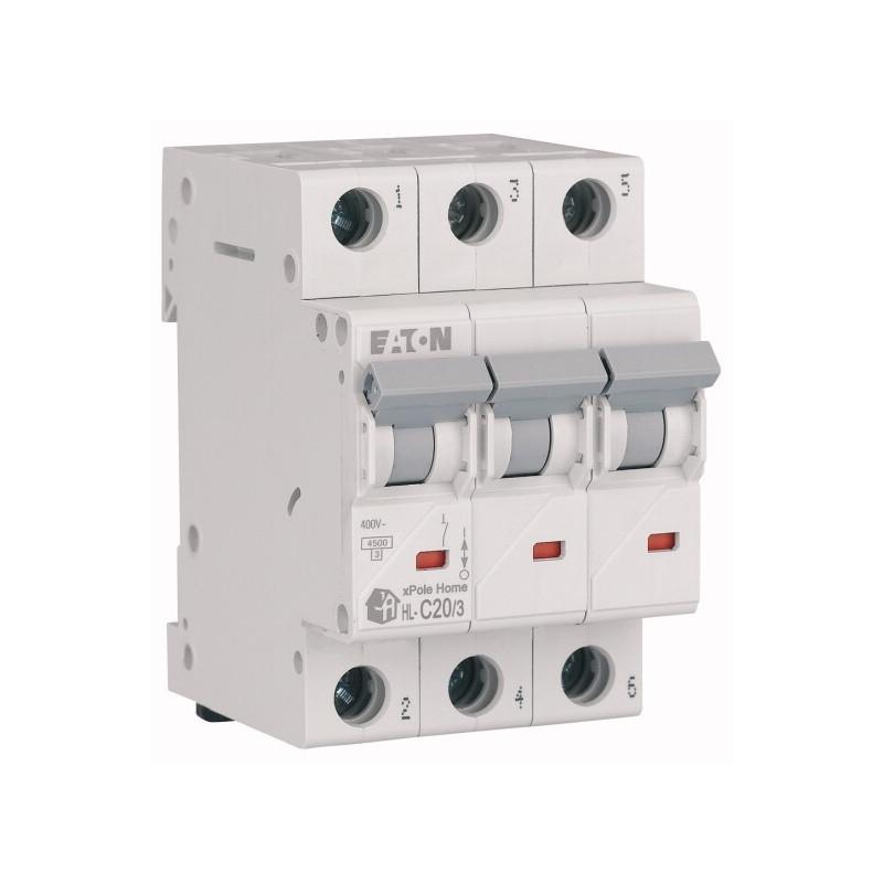 Автоматичний вимикач EATON HL-C20/3 EATON - 3