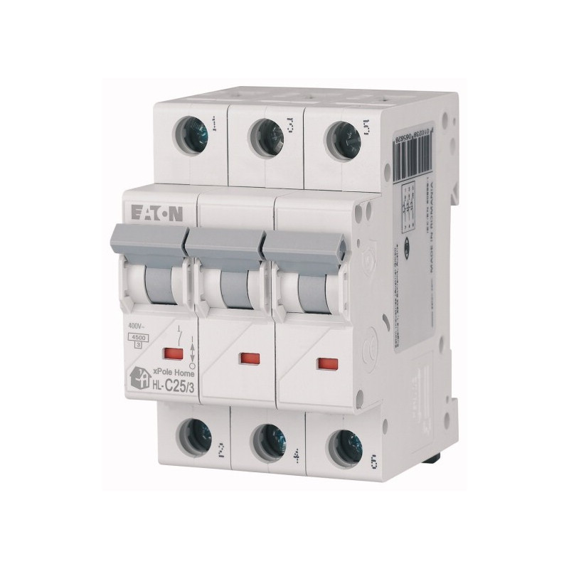 Автоматичний вимикач EATON HL-C25/3 EATON - 1