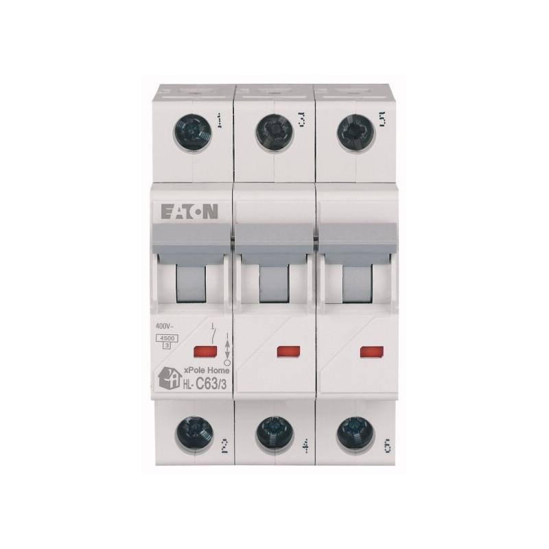 Автоматичний вимикач EATON HL-C63/3 EATON - 2