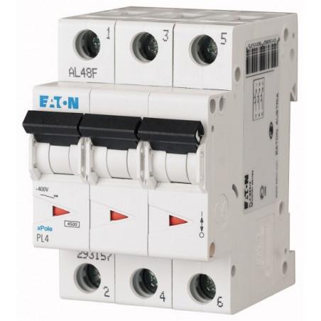 Автоматичний вимикач EATON PL4-C6/3 EATON - 1