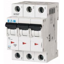 Автоматичний вимикач EATON PL6-C10/3 EATON - 1