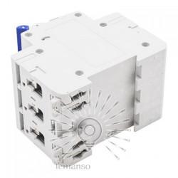 Автоматичний вимикач Lemanso 4.5KA (тип С) 3п 50A LCB45 Lemanso - 2